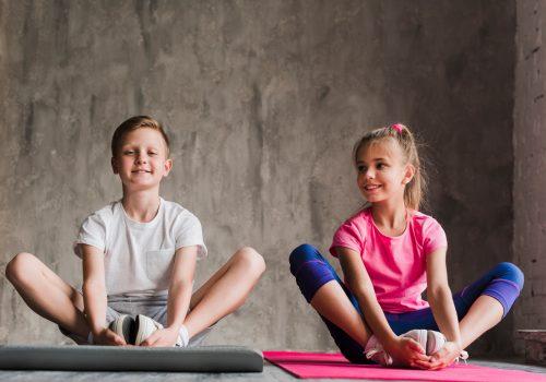 clases de yoga para niños en Vitoria-Gasteiz