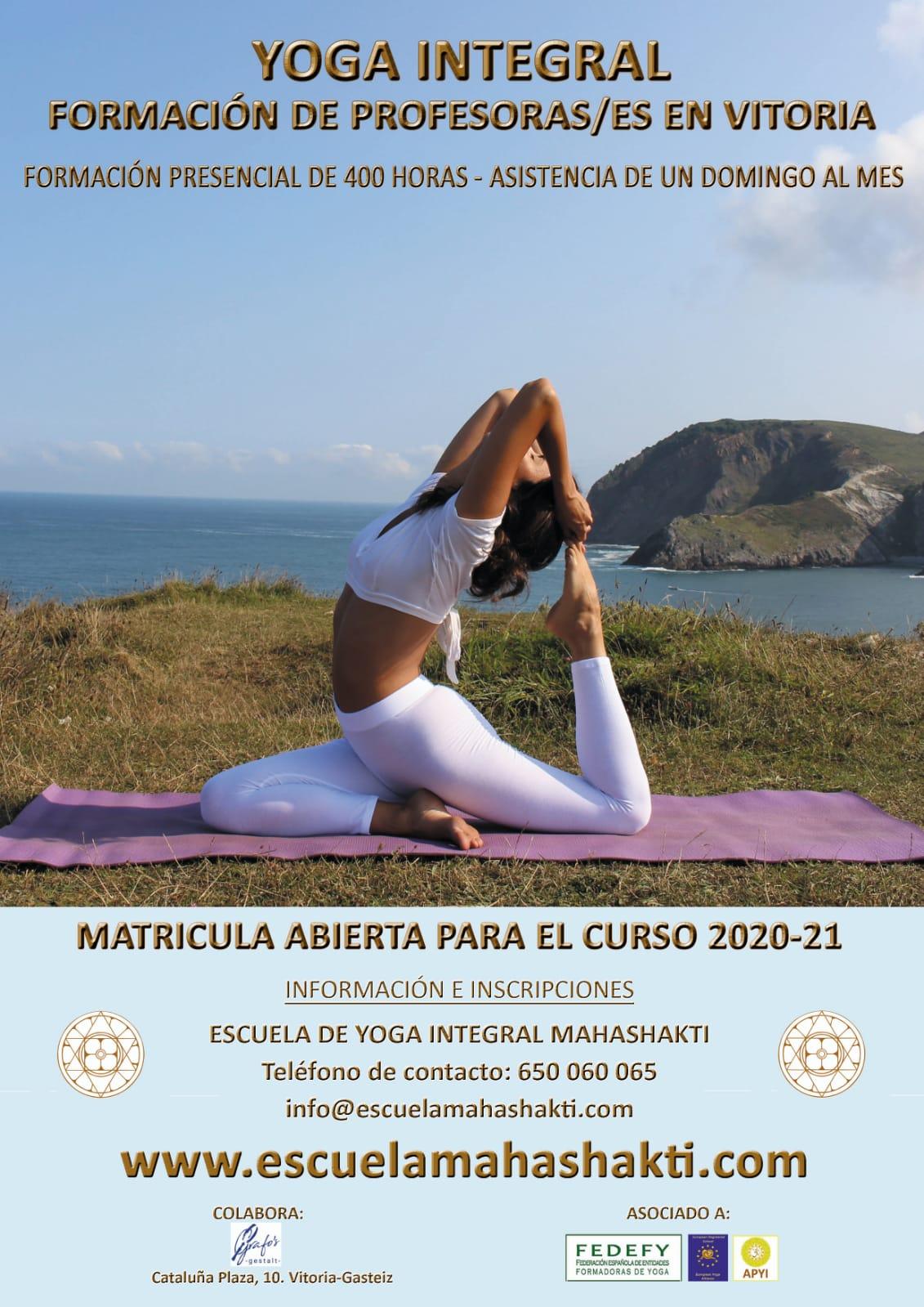 Yoga integral - Escuela integral Mahashakti