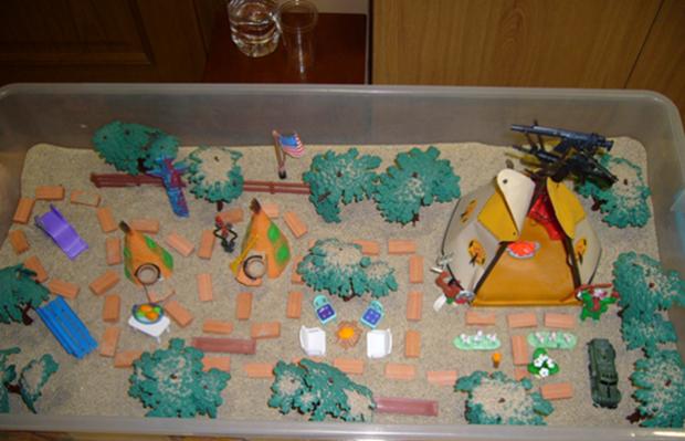 Taller la caja de arena en Vitoria-Gasteiz