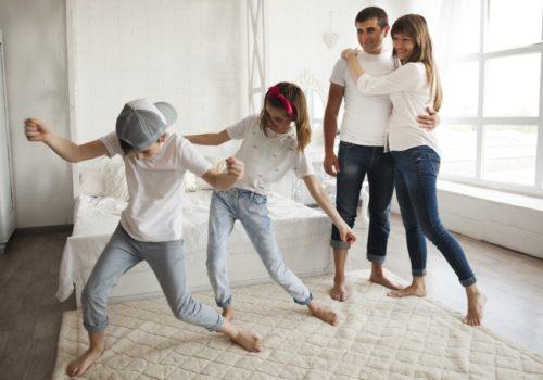 Taller movimiento en familia en Vitoria-Gasteiz