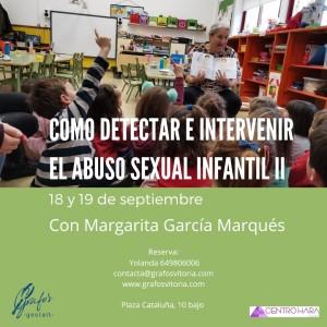 Curso detección abuso sexual infantil en Vitoria-Gasteiz