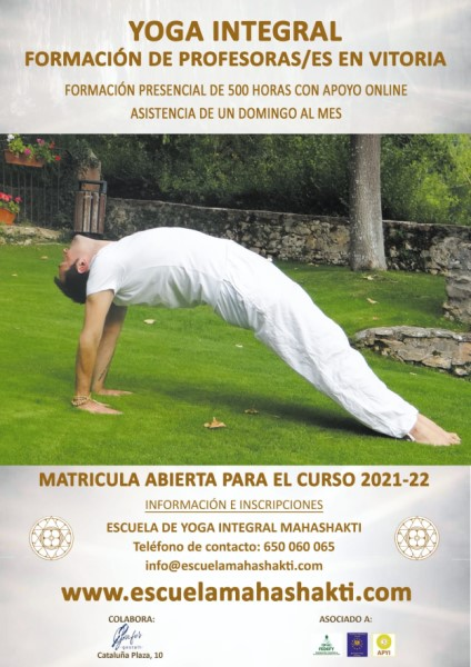 Formación yoga para profesores Grafo´s Gestalt