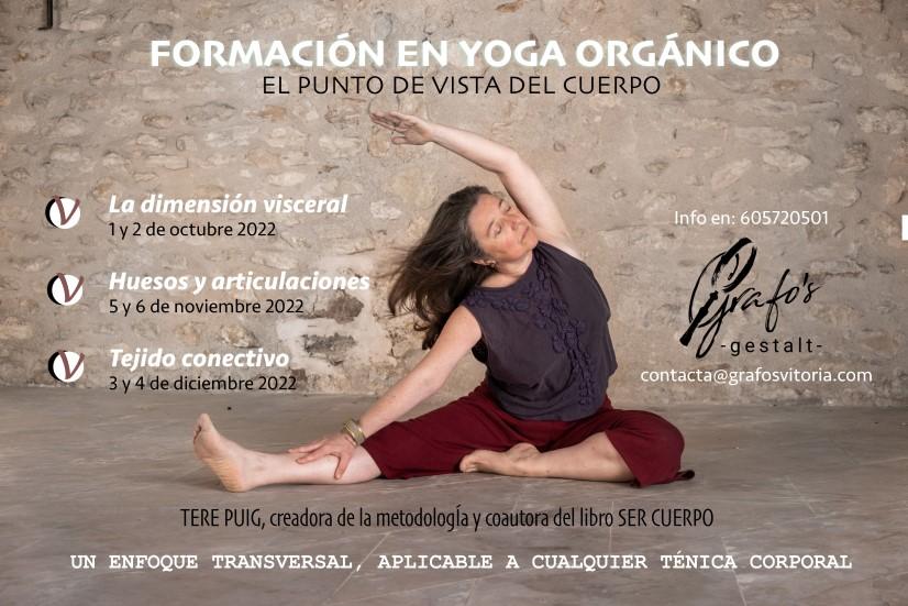 Formación en yoga integral en Vitoria-Gasteiz 2022